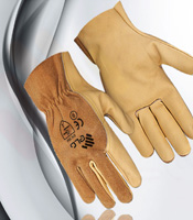 Leather Driving Gloves-image