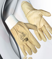 Leather Gloves for driving graphic