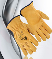 Gloves for driver graphic